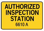 Authorized Maryland Inspection Station